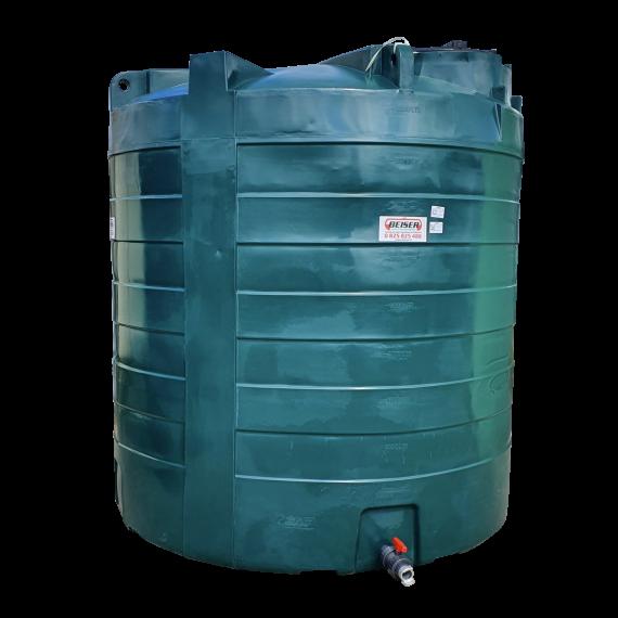Citerne PEHD 10000 litres verticale 2400x2660
