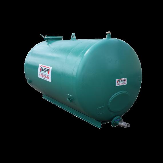 Citerne acier haut de gamme 6000 litres reconditionnée sur faux châssis