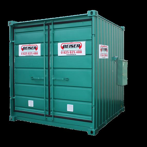 Container de stockage phyto, 11.5 m², non isolé