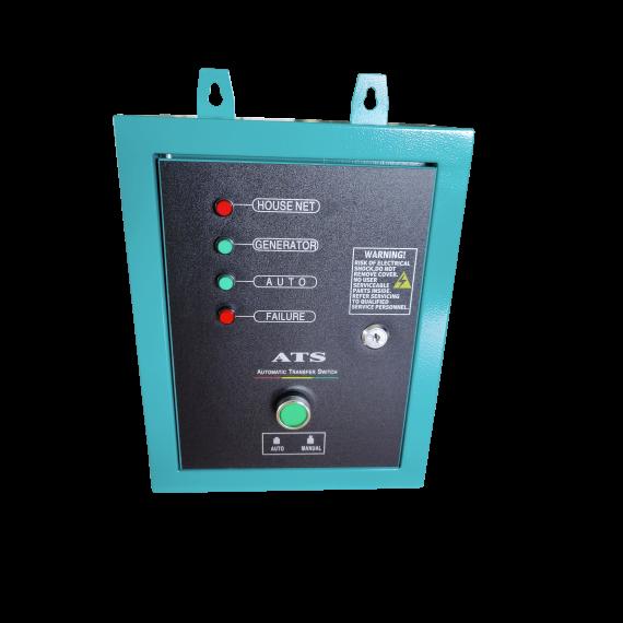 Boîtier ATS pour groupe électrogène diesel insonorisé 7 kW monophasé