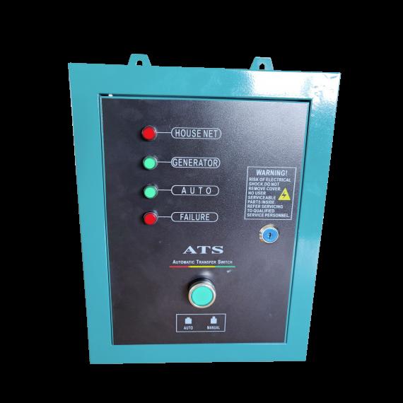 Boîtier ATS pour groupe électrogène diesel insonorisé 10 kW monophasé