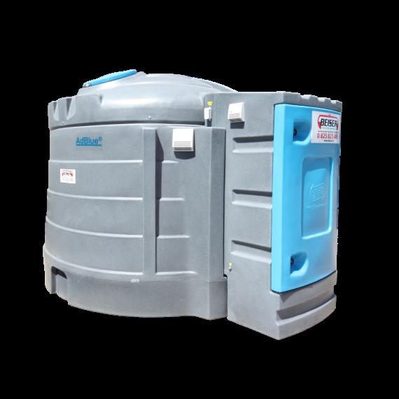 Station AdBlue double paroi PEHD 2500 litres avec chauffage intégré