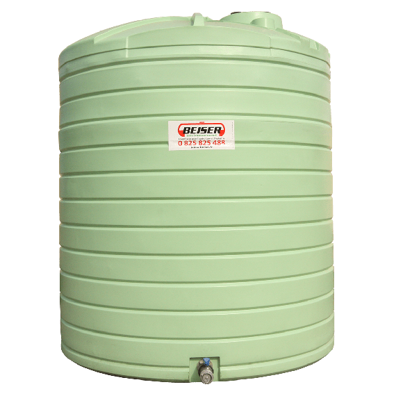 Citerne PEHD verticale stockage d'eau 7500L