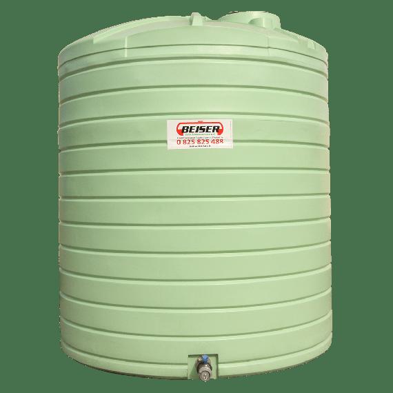 Citerne PEHD verticale stockage d'eau 12500L