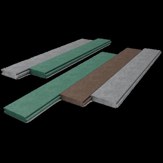 Planche spéciale box grise (2850 x 130 x 28)