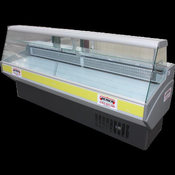 Vitrine réfrigérée compacte vitres droites, 2,5 m