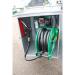 Beiser Environnement - Station fuel industrielle galvanisée avec enrouleur sécurisée 1000 L - Point de vue détaillé