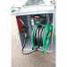 Beiser Environnement - Station fuel industrielle galvanisée avec enrouleur sécurisée 2500 L - Point de vue détaillé