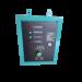 Boîtier ATS pour groupe électrogène diesel insonorisé 7 kW triphasé