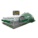 Beiser Environnement - Niche collectivre 16 veaux igloo isolee complete nouveau parc et caillebotis (niche)