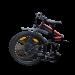 Vélo électrique pliable aluminium 500 W - Noir 1