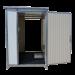 Beiser Environnement - Vente de Citerne Fuel Fioul Azote Engrais - SaS Préventif en kit Mobile 8m3 - Vue de face avec ouverture