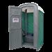 WC mobile sur chassis vue porte ouverte